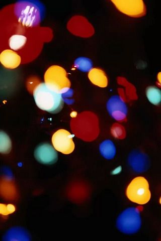 Download Light Bokeh Colors Iphone Wallpaper Mobile Wallpapers