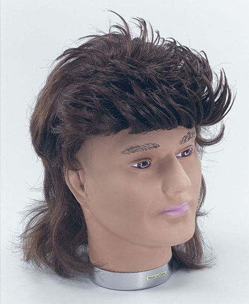 Mullett Business In The Front Party In The Back I Had This Haircut Justsaying Mullet Wig Fancy Dress Pop Star