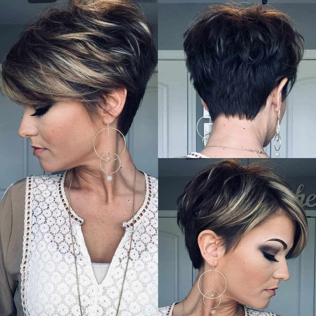 Beautiful Pixie And Bob Short Hairstyles 2019 #shortpixiehaircuts