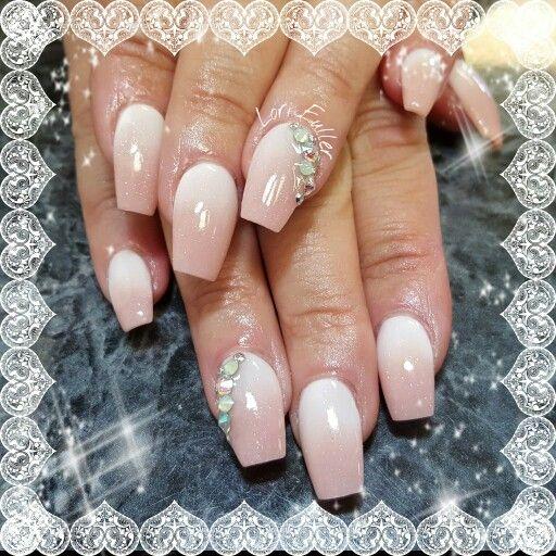 Gorgeous Acrylic Baby Boomer Nails Nailedbylori On Ig Sassynails On Fb Nails I Have Done