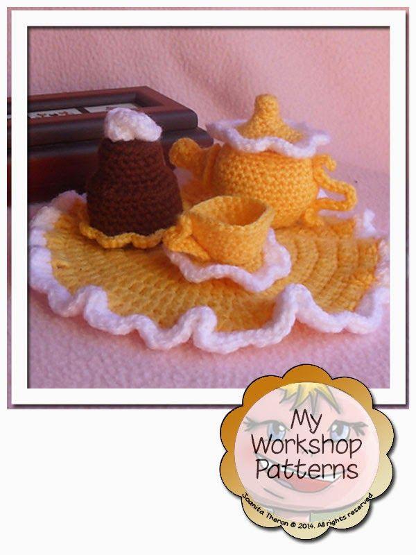 Crochet A Tea Set For Your Favorite Little Girl Free Patterns