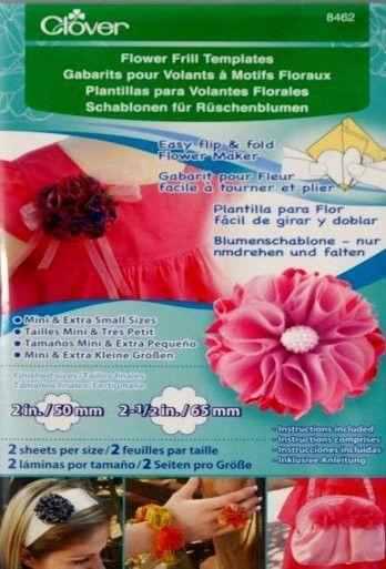 Clover Mini & Extra Small Flower Frill Templates