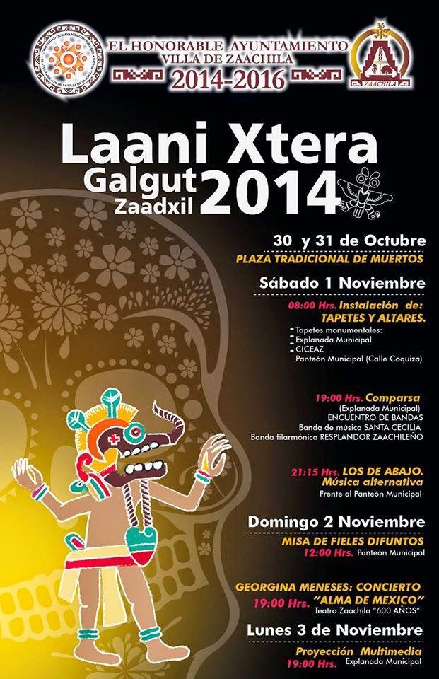 Actividades de Día de Muertos en Zaachila, Oaxaca 2014 ~ Vive Oaxaca - Página Oficial