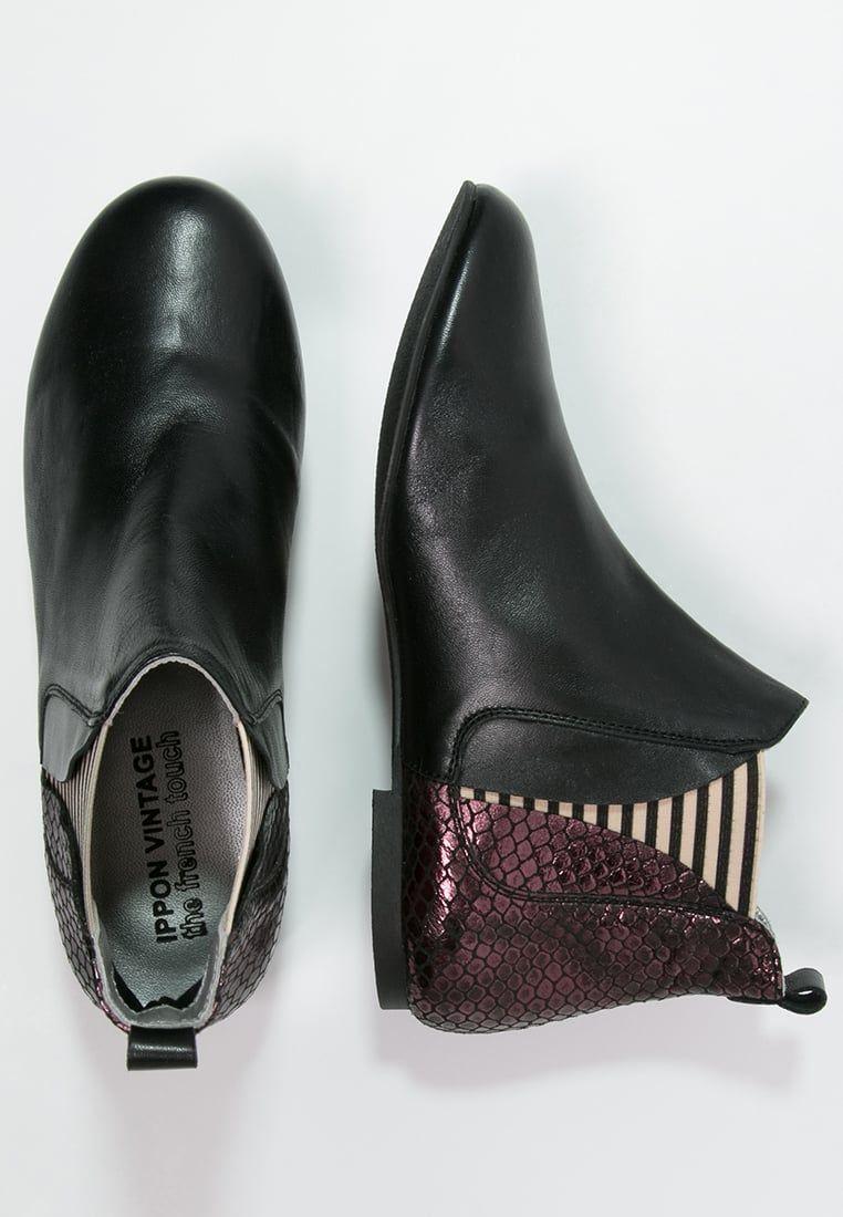 Schoenen Ippon Vintage PATCH ROCK Korte laarzen bordeaux