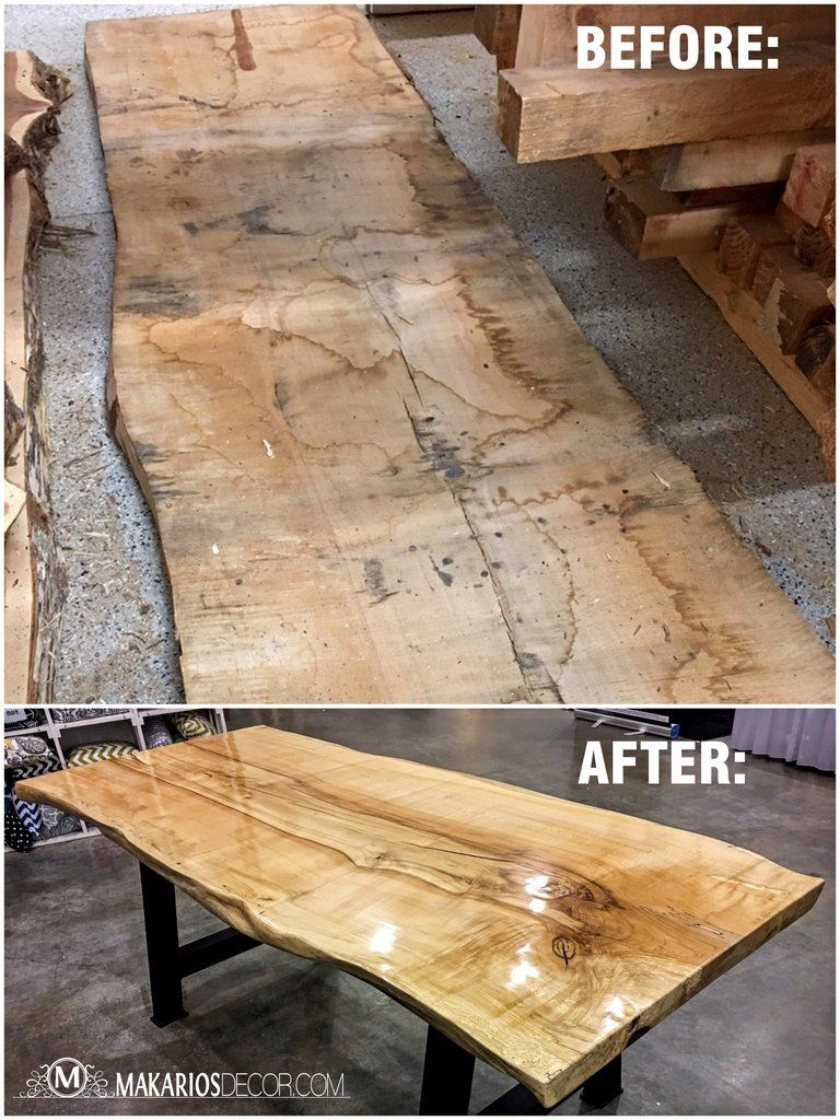 Wood Slabs For Your Home Built By Makarios Decor Wood Slab Natural Edge Wood Wood Slab Table Top