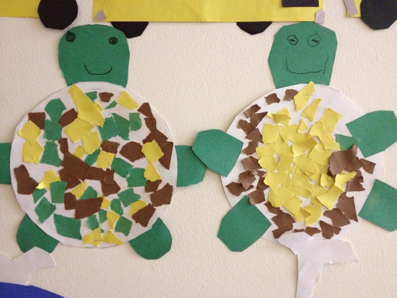 green turtle craft mrs hodge and her kindergarten kids