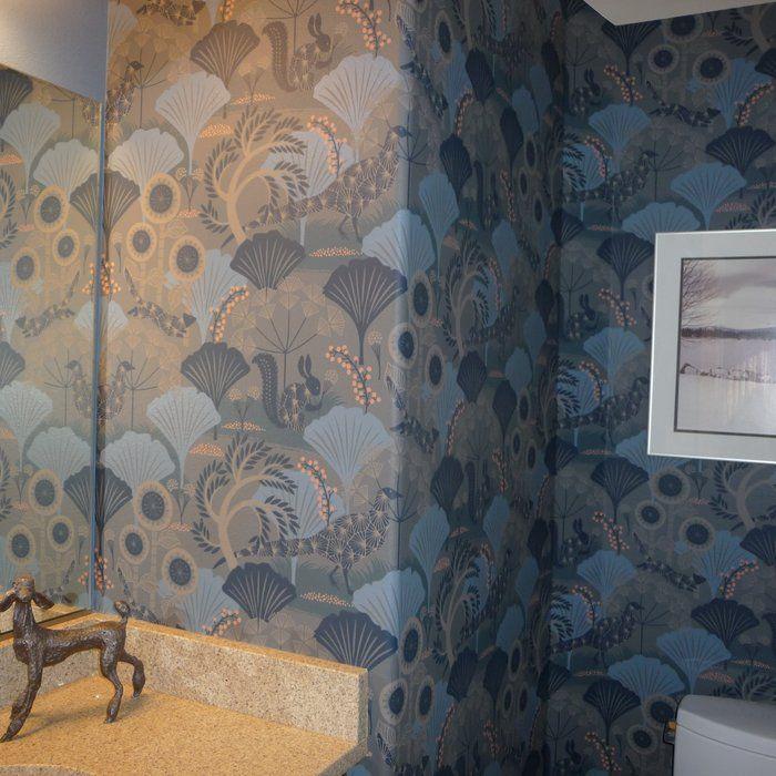 Brewster Home Fashions Wonderland Skog Forest 33' x 21