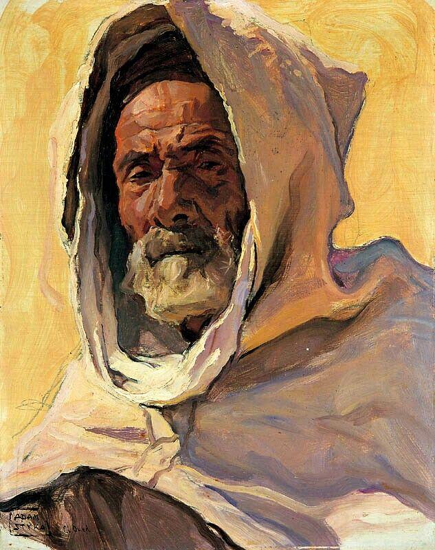 Populaires Peinture d'Algérie :Peintre Polonais Adam Styka (1890 - 1959  EI43