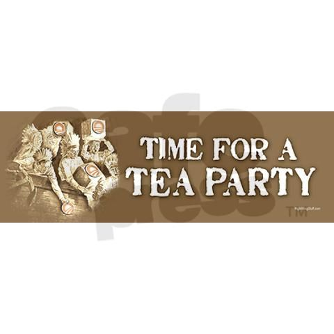 Did you know that at the time of the Tea Party there was NO income tax and the tax on tea was 4%? Yet, this made them mad enough to revolt. We are such idiots! Like frogs in a cooking pot that slowly heats. We just stay in the poop. Progressive Politics Election Vote No Obama