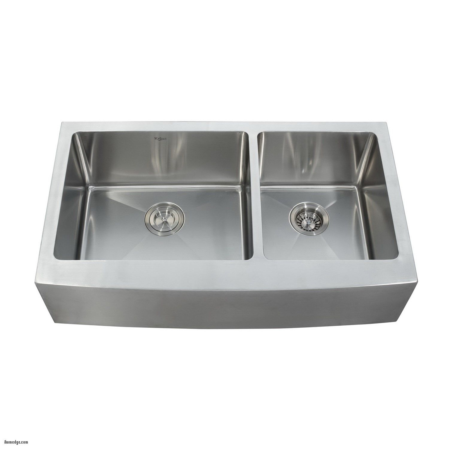 Inspirational unique stainless steel apron sink kraus