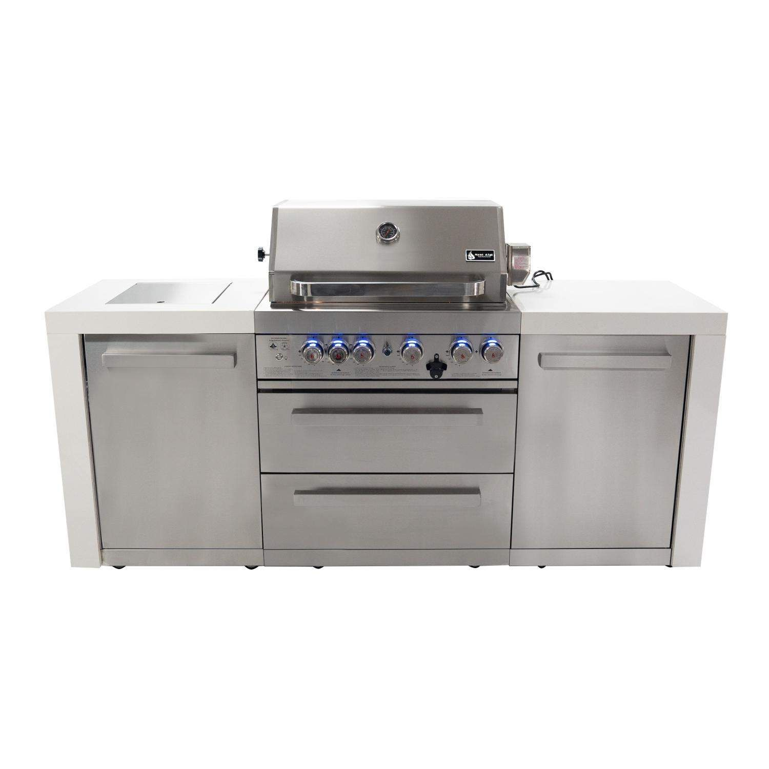 Mont Alpi Deluxe Island Grills Are The Ultimate Cooking Station Built To Bring Together Your Whole Outdoor Kitche In 2020 Gas Bbq Natural Gas Bbq Natural Gas Bbq Grill