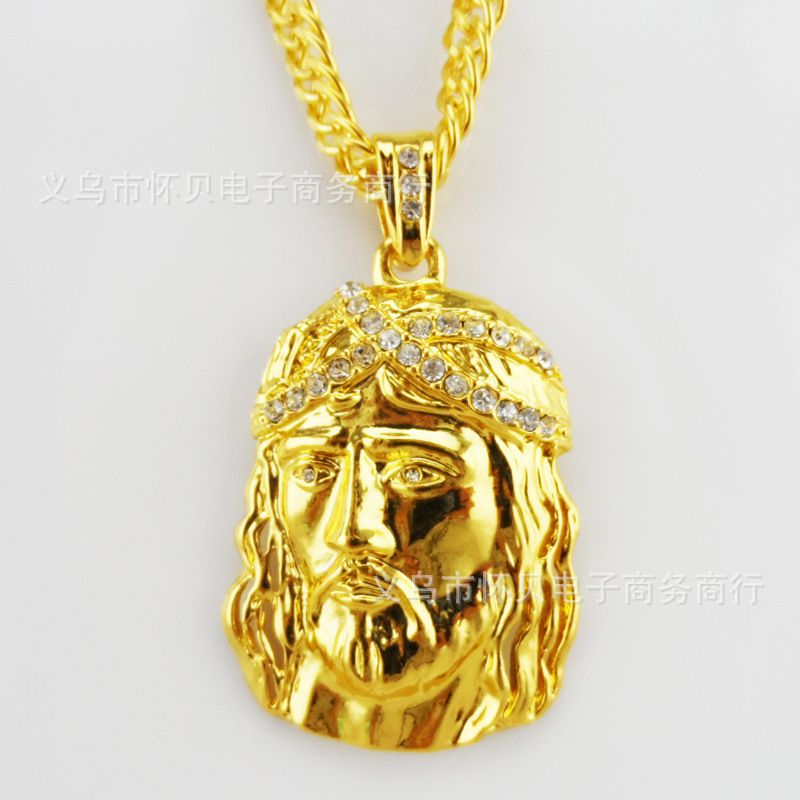 80cm fashion jesus hip hop pendant necklaces sale charms big 80cm fashion jesus hip hop pendant necklaces sale charms big chunky filling pieces mens 18k gold aloadofball Images