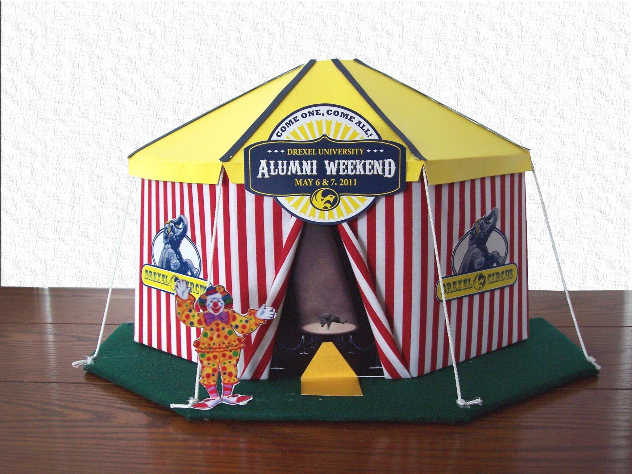 circus centerpieces | Circus Tent Centerpiece & circus centerpieces | Circus Tent Centerpiece | easy DIY u0026 Crafts ...