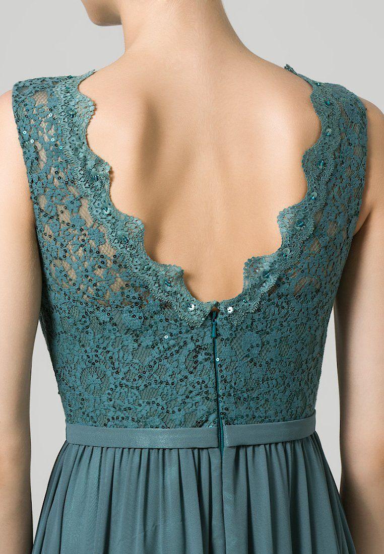 I want this petrol dress! :) | Kleid standesamt kurz ...