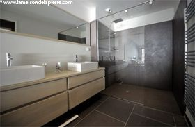 Beautiful Salle De Bain Ardoise Et Blanc Photos - Antoniogarcia.info ...