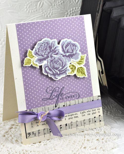 PTI Dawn McVey The Sweet Life Roses Spring Rain, Winter Wisteria Plum Pudding Leaves: Spring Moss, Ripe Avocado