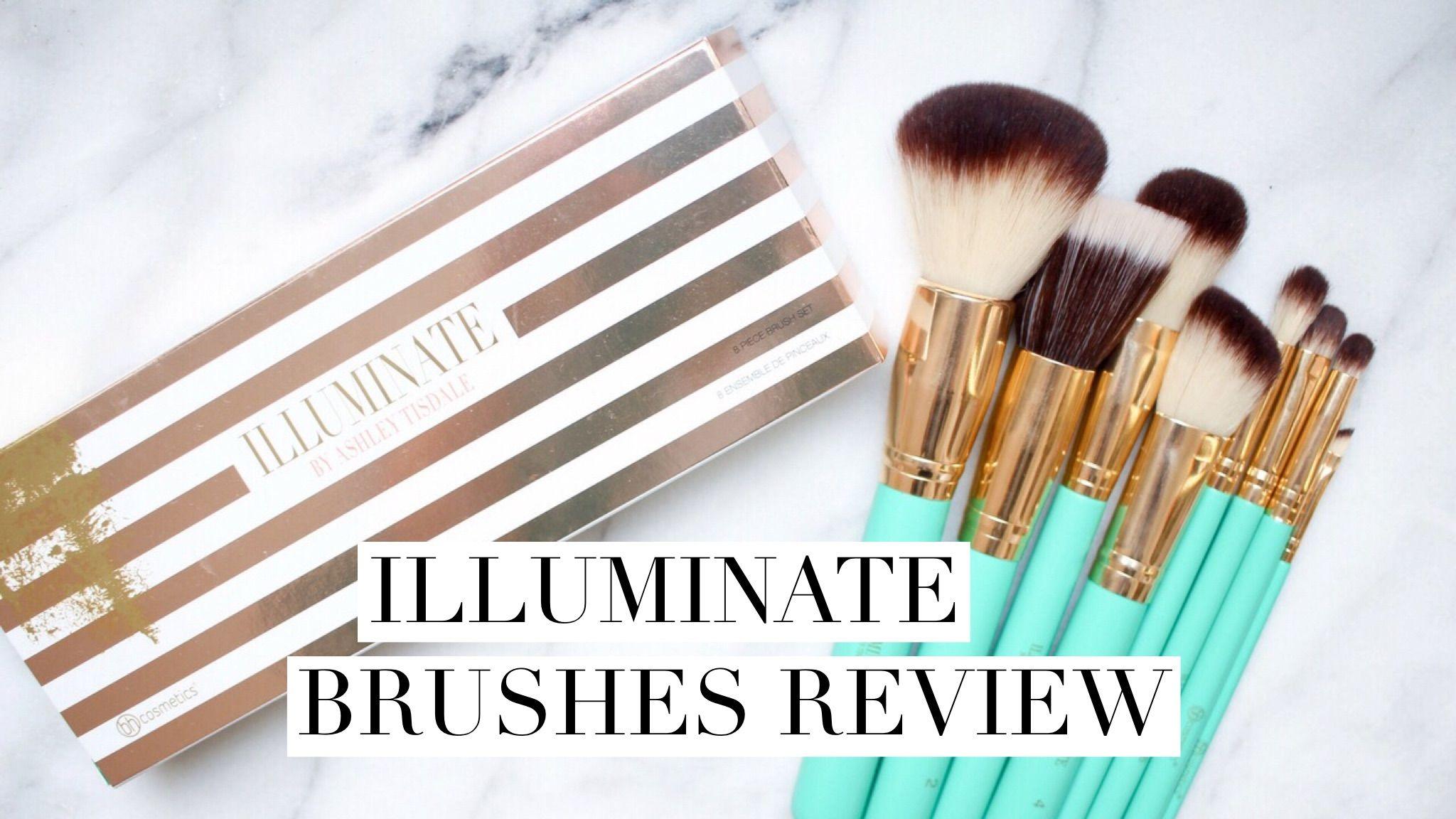 Illuminate Brushes Review Easy makeup tutorial, Diy