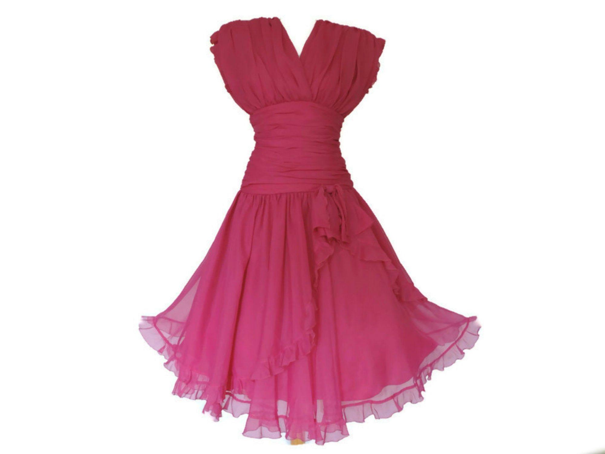 80s Pink Chiffon Frank Usher Cocktail Dress 80s Does 50s Uk 8 Us 4 Chiffon Cocktail Dress Pink Chiffon Cocktail Dress Cocktail Dress [ 1500 x 2000 Pixel ]