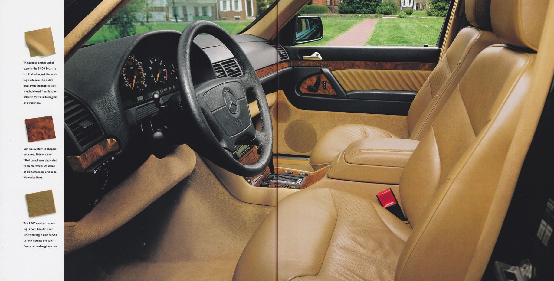 1994 Mercedes Benz S Class (W140) Models LineUp   ~~~~~~Mercedes