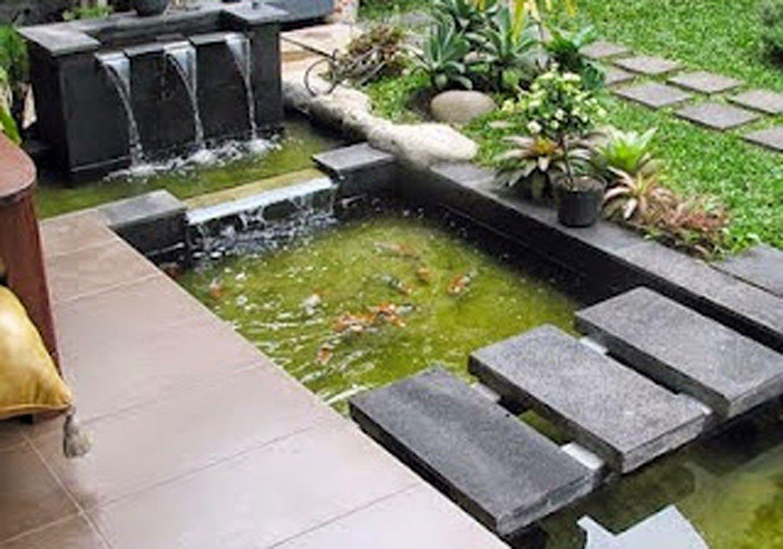 Image For Desain Taman Kecil Dengan Kolam Ikan Grd0091 Inspirasi