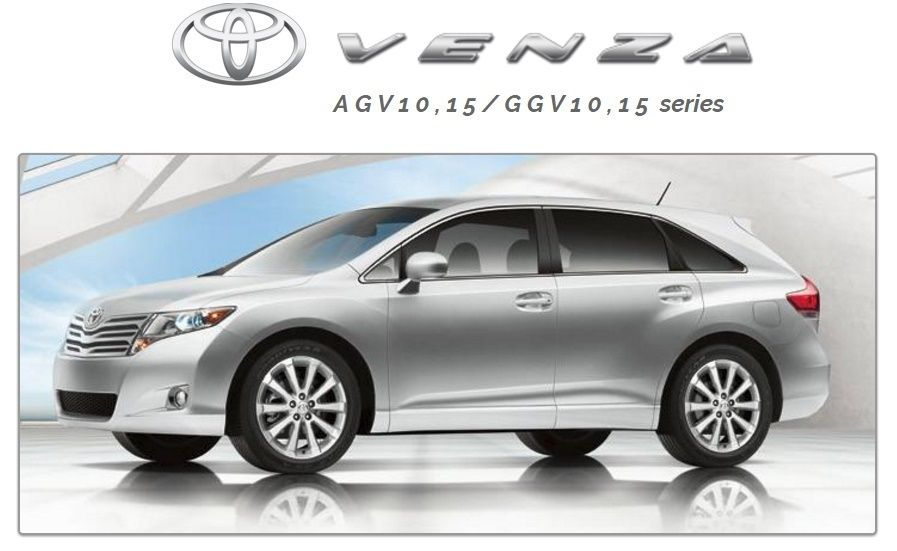 toyota venza 2009 2011 agv10 15 ggv10 15 series pdf workshop manual rh pinterest com Toyota Factory Repair Manuals Auto 2002 Toyota Camry