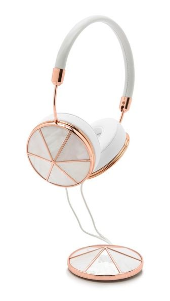 Rose Gold Headphones | Frends.