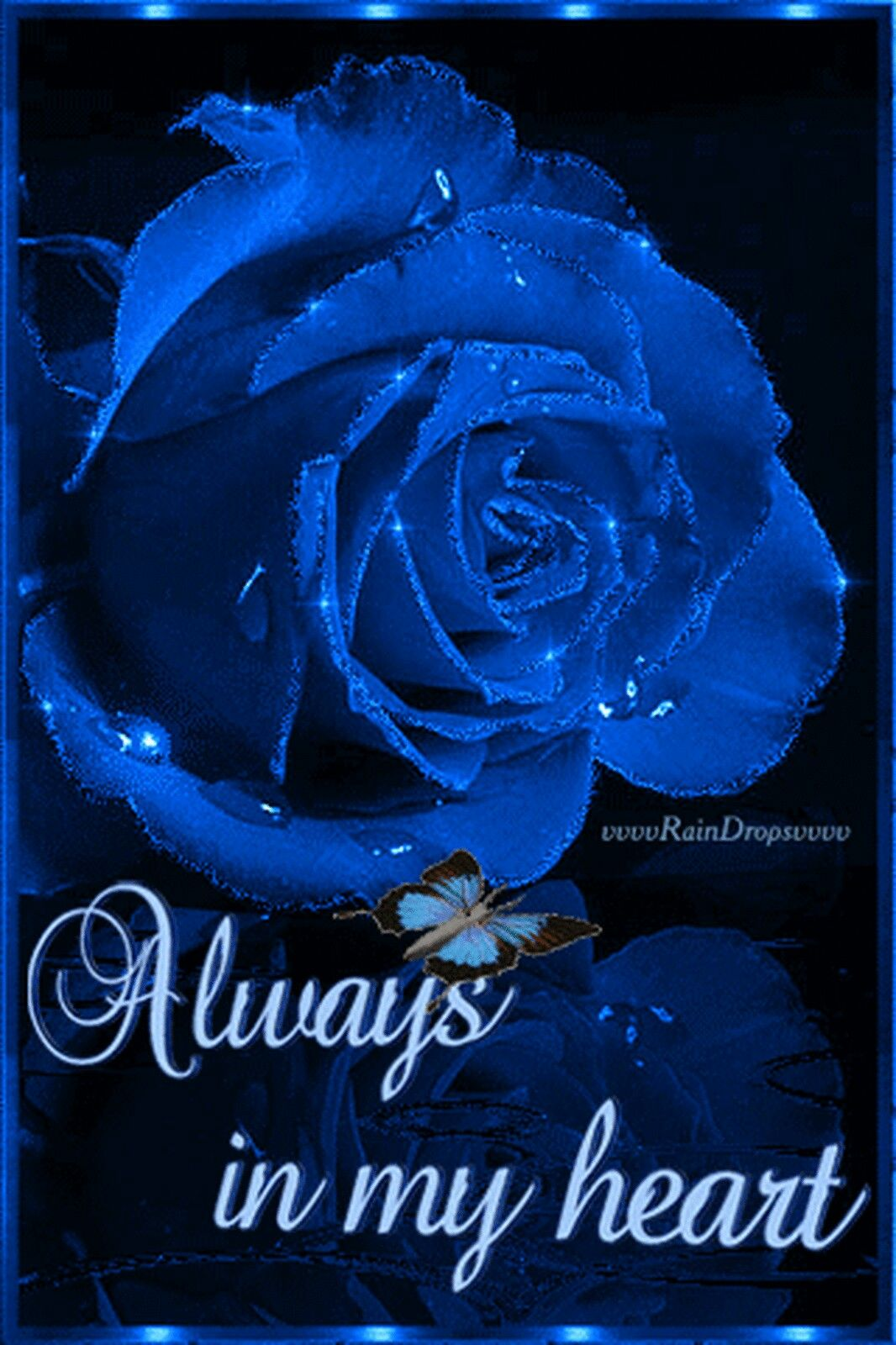 Always To My My King Pinterest Love Quotes Blue Roses