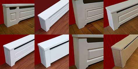 New Designer Series Baseboard Heater Covers Custom By