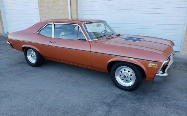 Tidy Driver: 1971 Chevrolet Nova