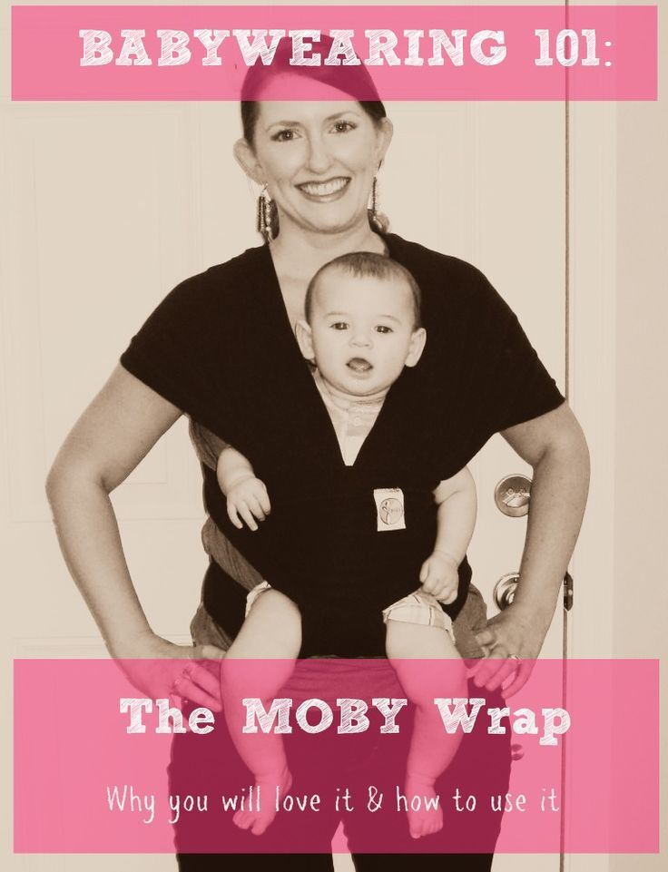 6222b6b8ab9 Babywearing 101  The Moby Wrap Why you ll love it   How to use it! Can t…