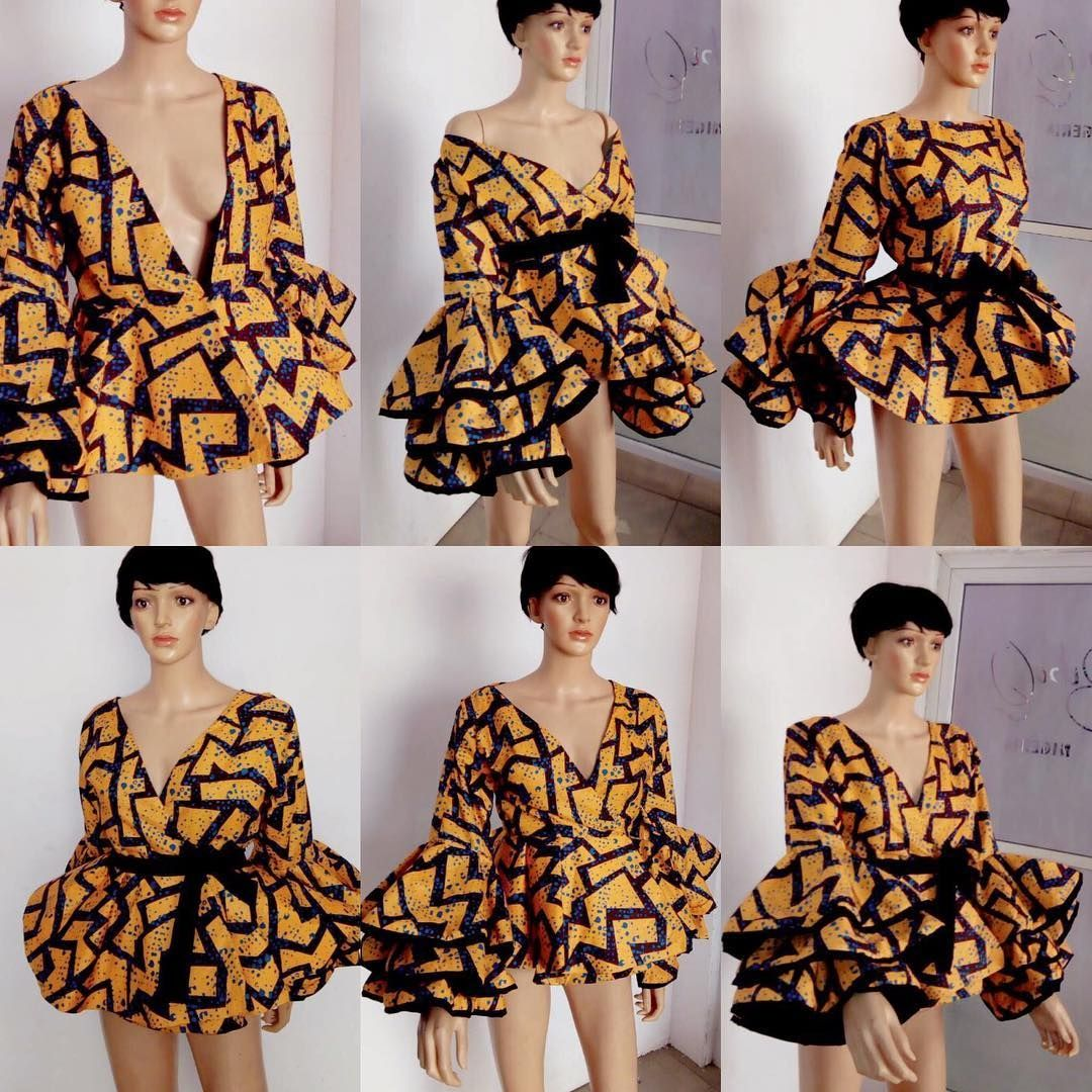 7dc0f8890dd9b There s something very stylish and elegant about Ankara peplum tops ...