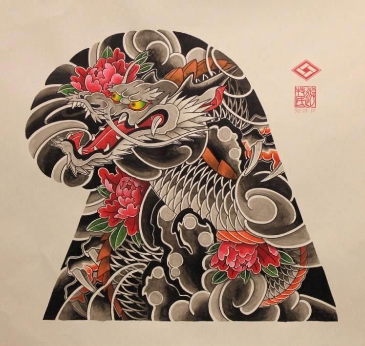 Please Click Here To Read More On Dragon Koi Fish Tattoo Designs Don T Let Yourself Get Pressu Japanese Tattoo Japanese Dragon Tattoos Japanese Tattoo Designs