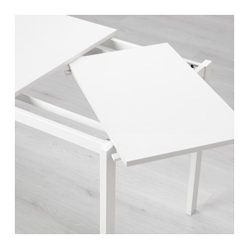 vangsta white extendable table min