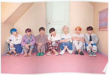 #BTS #방탄소년단 #MAP_OF_THE_SOUL_PERSONA Concept Photo version 3 Poster