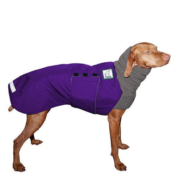 Vizsla Winter Dog Coat Winter Coat Waterproof Dog Coat Dog Winter Jacket Fleece Neck Warmer Winter Clothes Dog Clothing Dog Apparel Dog Winter Coat Waterproof Dog Coats Dog Coats