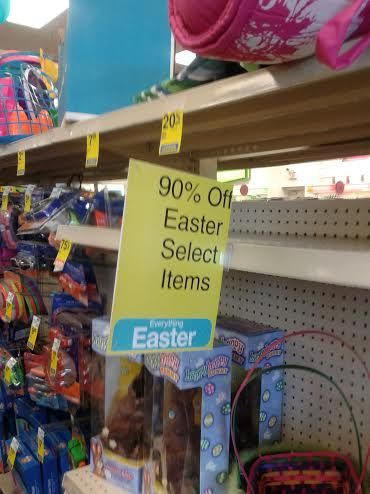 19e054999cf4 90 Percent Off CVS Easter Clearance –  32 Worth For  3!