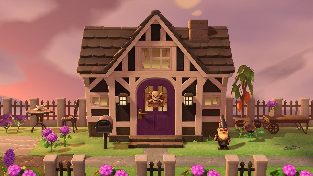 Acnh House Exterior In 2020 Animal Crossing House Exterior Exterior