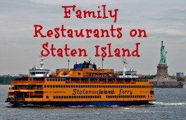 Staten Island Family Friendly Restaurants 10 Places To Eat With Kids On Si