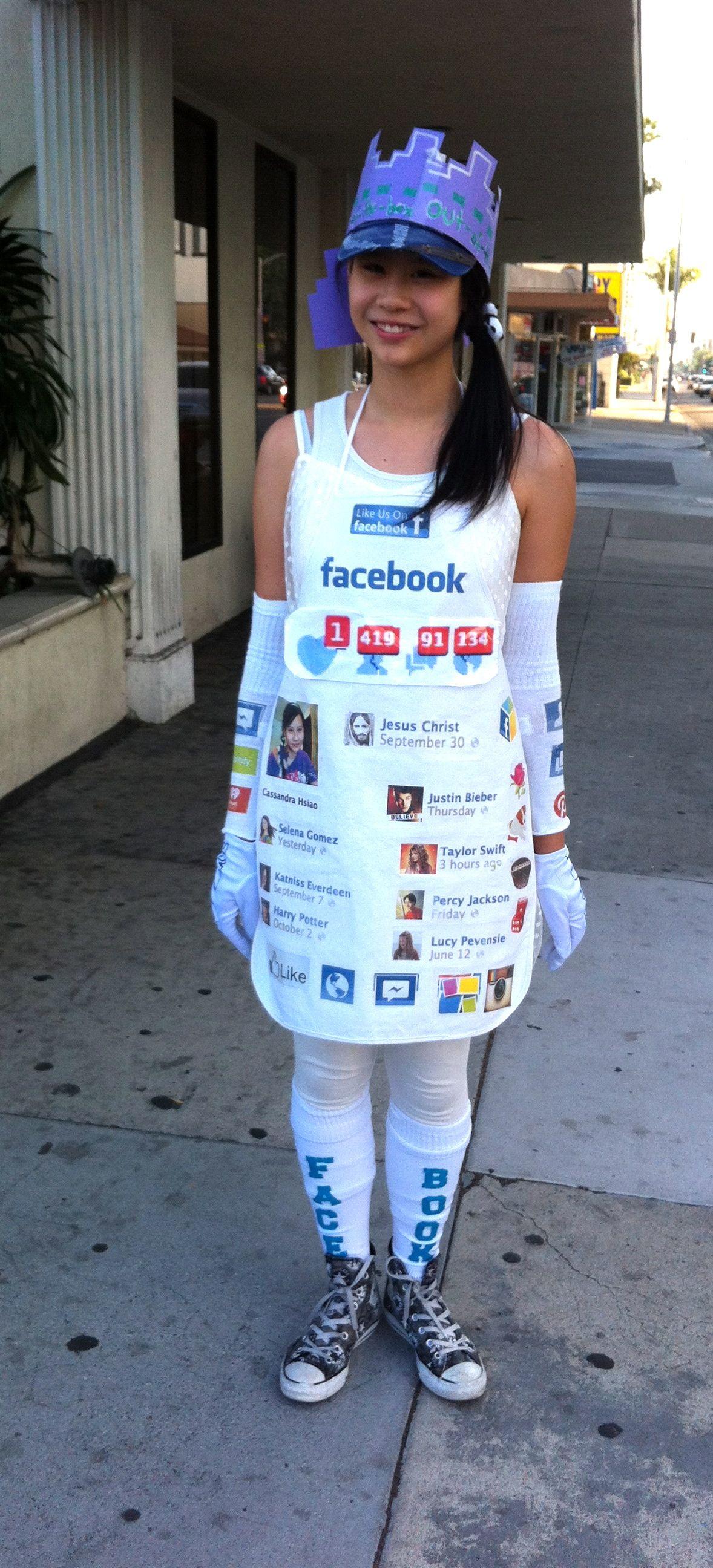 Facebook Costume for Halloween My Wardrobe Halloween