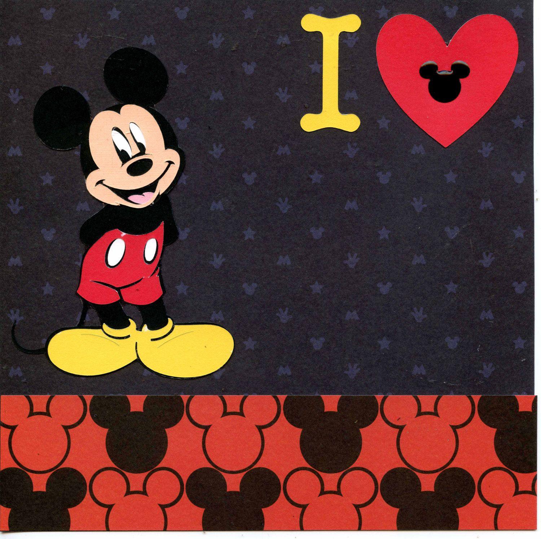 Disney Mickey Mouse Scrapbook Topsimages
