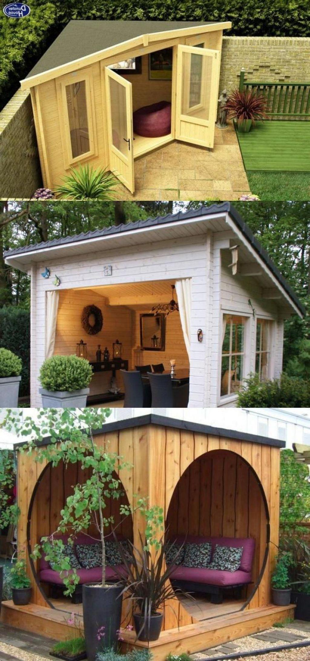 Cool 41 Creative Diy Backyard Gazebo Design Decoration Ideas