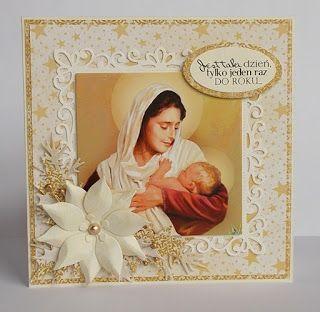 Kartki świąteczne w brązach, kremach i beżach