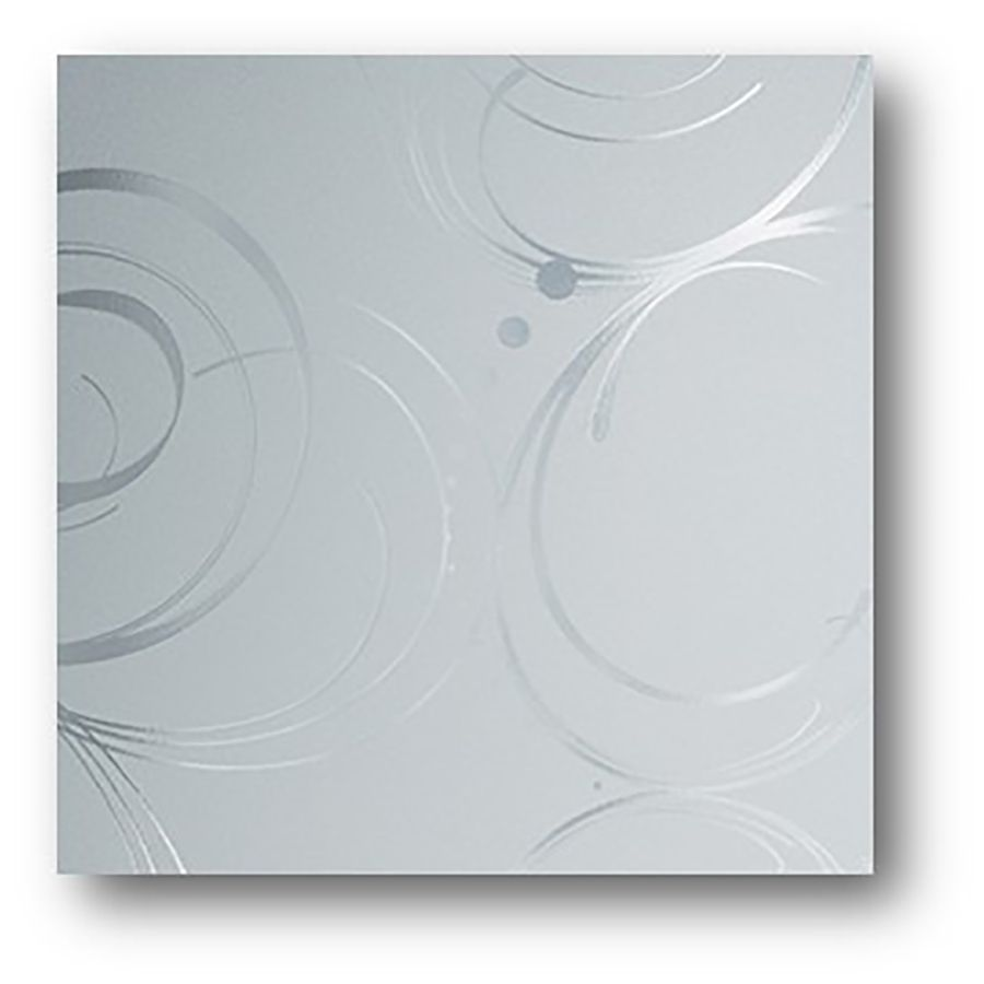 Bathroom Window Privacy Film Lowes: GILA 36-in W X 78-in L Frosted Privacy/Decorative Static