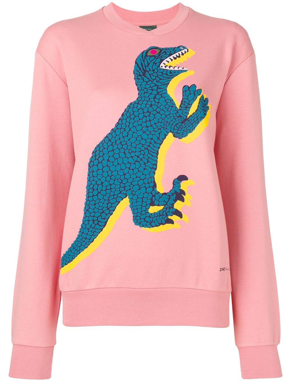 Ps By Paul Smith dinosaur sweatshirt Pink | Sweatshirts