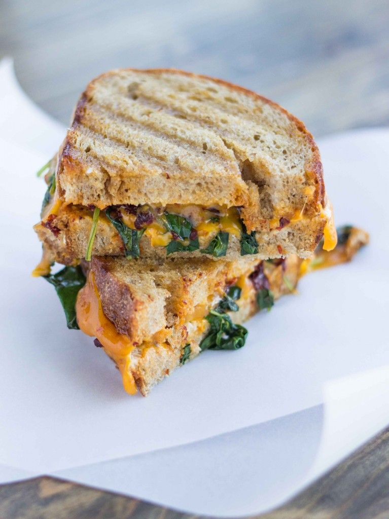 Smoky Kale and Chipotle Grilled Cheese | Recipe | Grilled ...