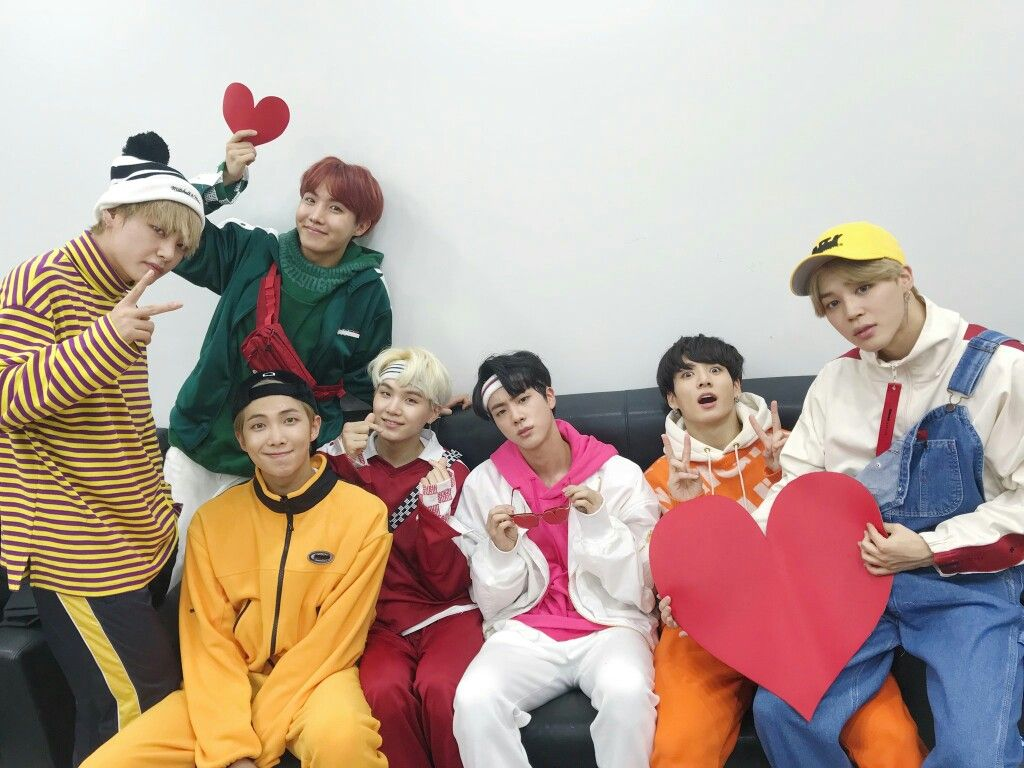 End of the year gayo bts