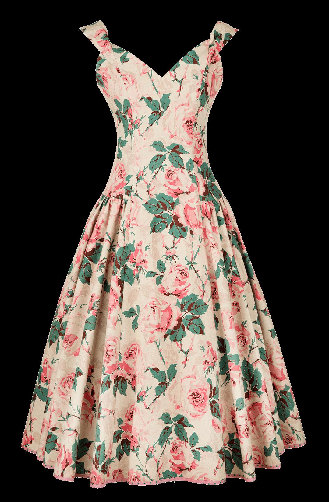 dc419f79f7e Lena Hoschek rose dress~