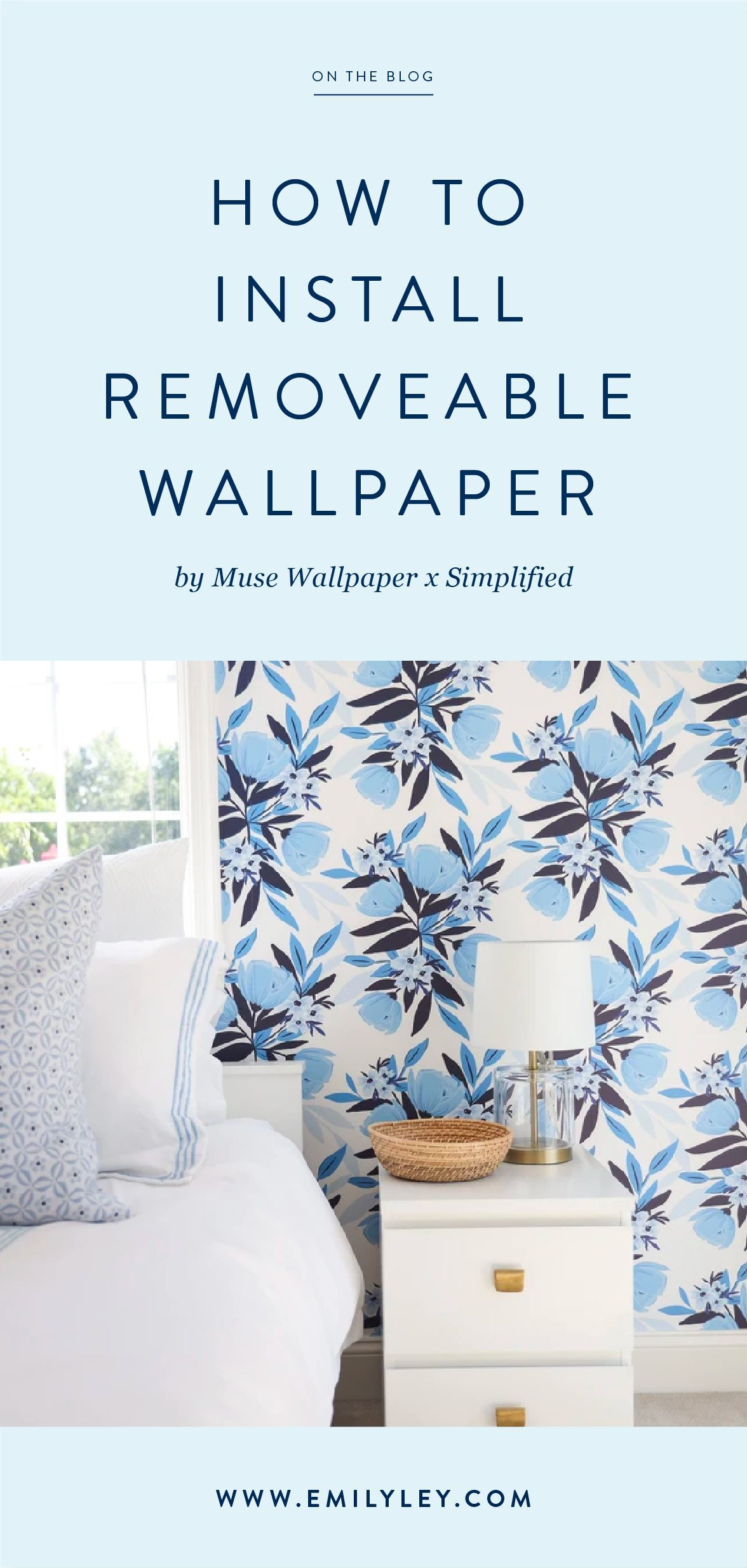 How To Install Removable Wallpaper Removable Wallpaper Home Decor Home