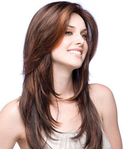 Hairstyle For Thick Hair Long Haircut With Front Locks Long Hair Styles Haircuts For Long Hair Long Wavy Hair