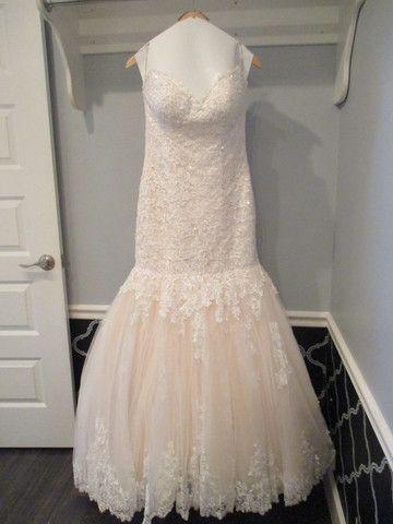 Maggie Sottero 'Marianne' size 8 new wedding dress - Nearly Newlywed